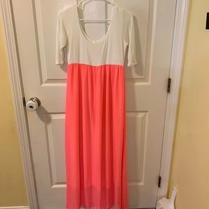 Maternity Maxi dress- medium